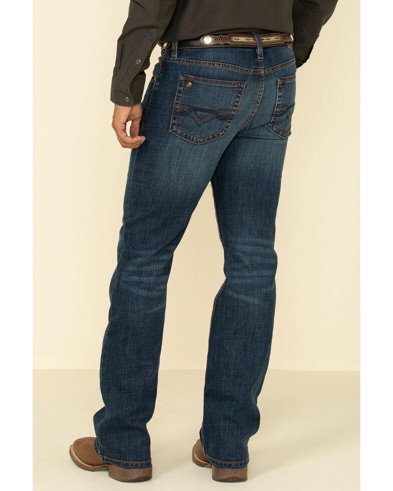 Cody James Core Men's Shindig Dark Wash Thermolite Performance Stretch Slim Bootcut Jeans , Blue, hi-res