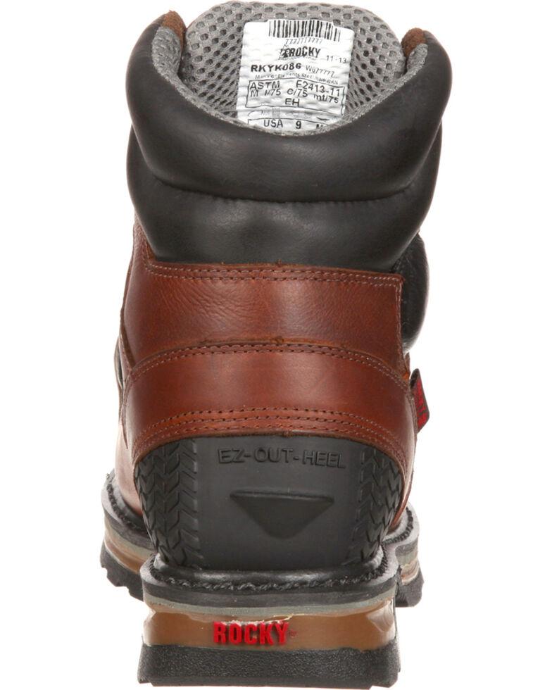 cc9f1b027e7 Rocky Elements Steel Waterproof Met Guard Work Boots - Safety Toe