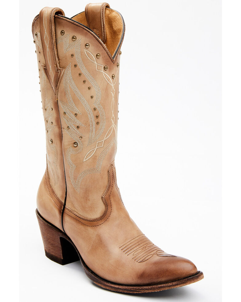 Idyllwind Women's Bayou Western Boots - Round Toe, Tan, hi-res