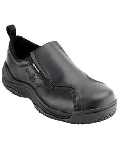 Nautilus Women's Composite Safety Toe Slip On Work Shoes, Black, hi-res