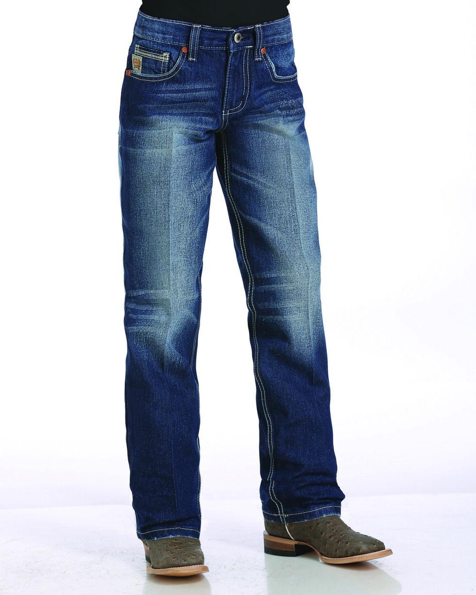 Cinch Boys' Indigo (4-7) Sawyer Slim Fit Jeans - Straight Leg , , hi-res