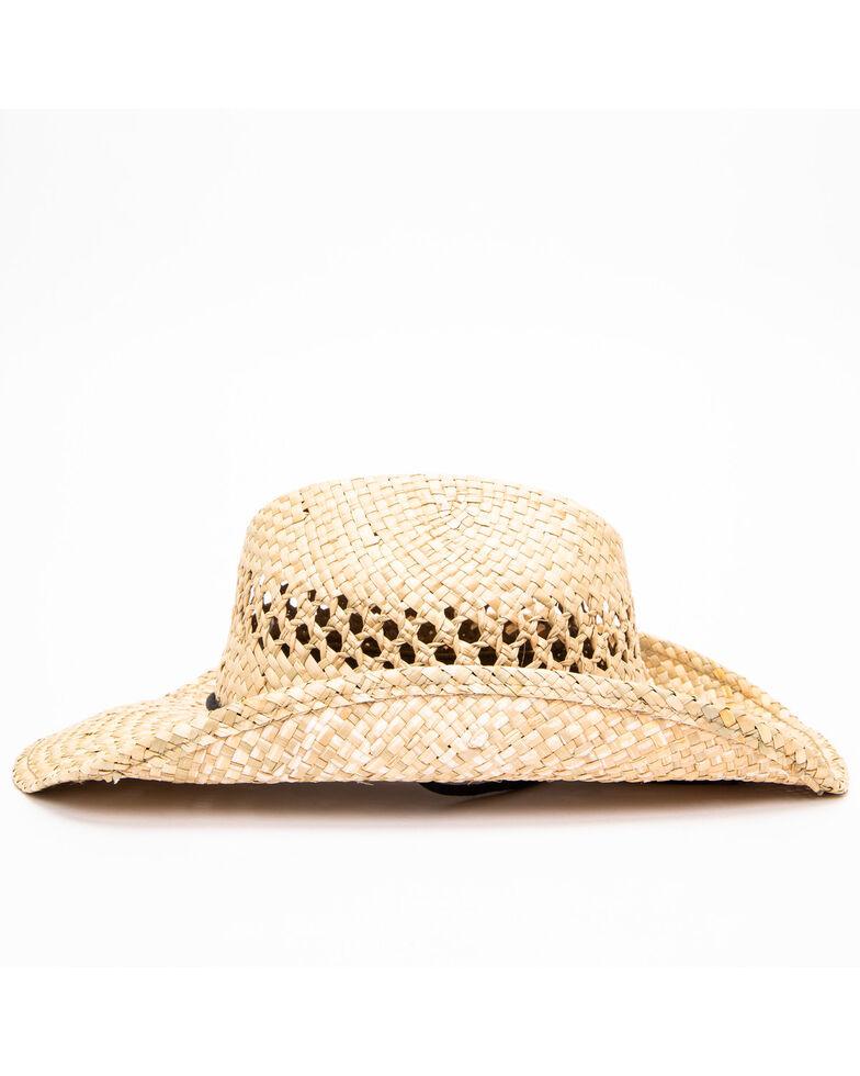 Moonshine Spirit Men's Fashion Straw Hat, No Color, hi-res