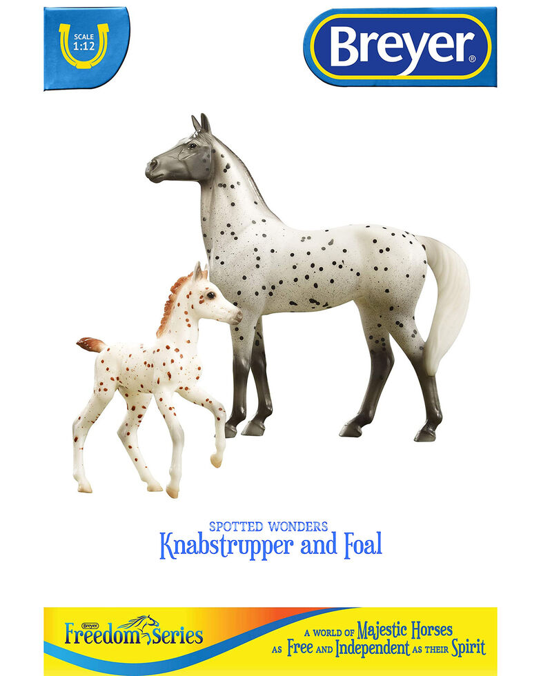 Breyer Spotted Wonders Horse & Foal, No Color, hi-res