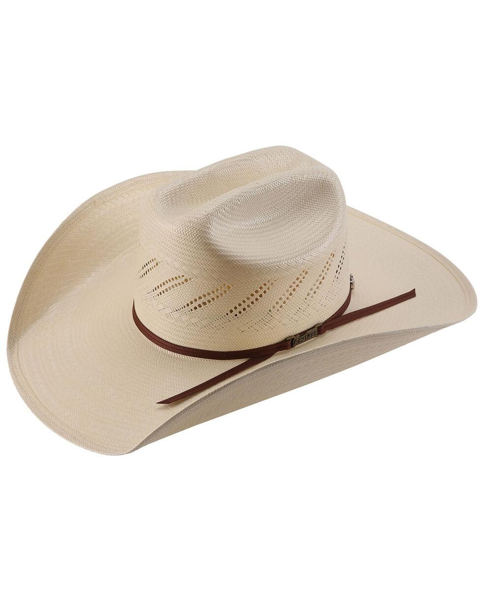 American Hat Co. Men's Straw Hat, Natural, hi-res
