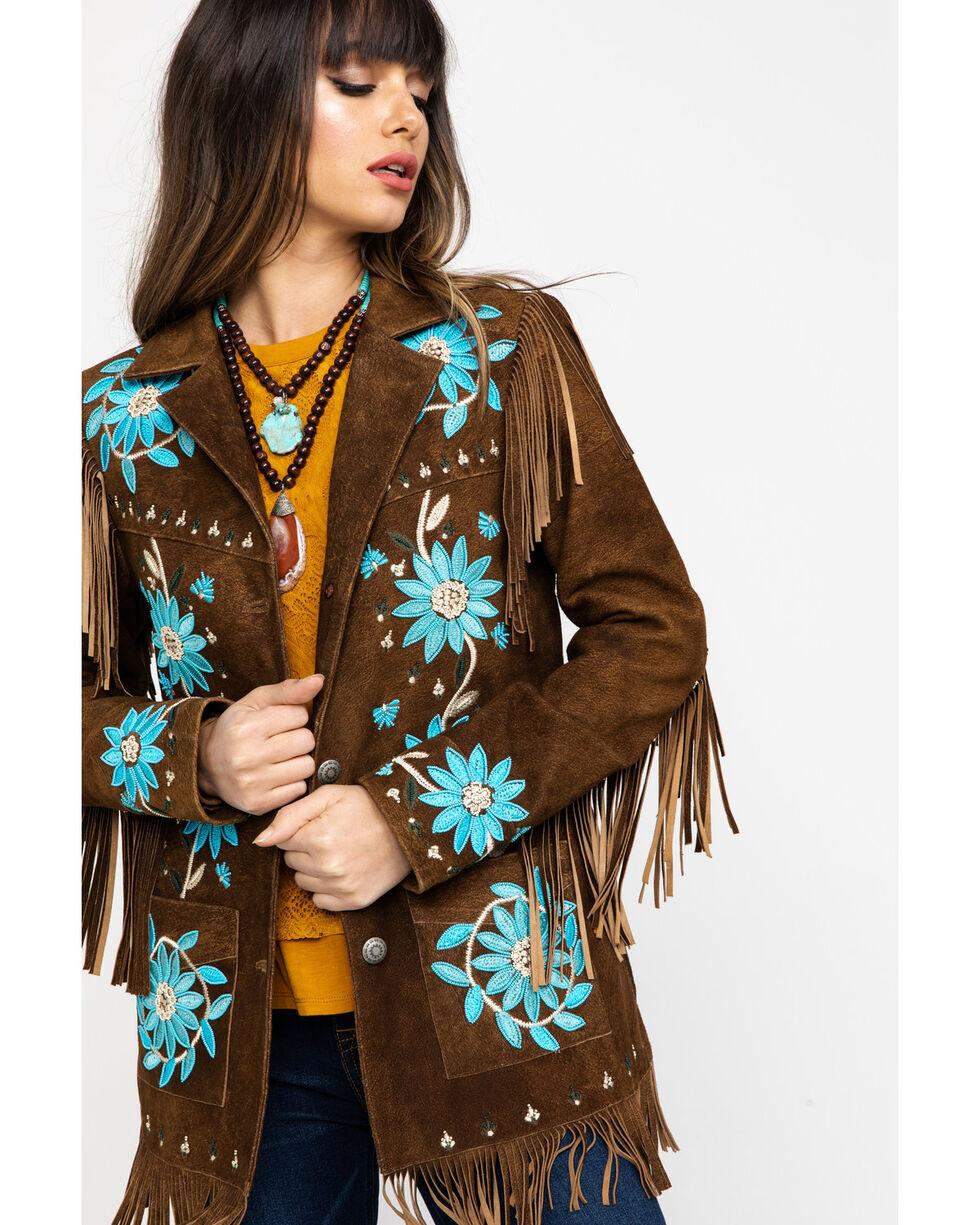 Tasha Polizzi Women's Belterra Jacket, Brown, hi-res