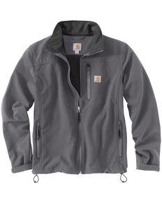 Carhartt Men's Denwood Softshell Jacket, Charcoal Grey, hi-res