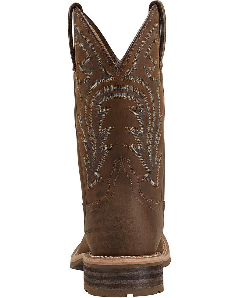 Ariat Men's Waterproof Hybrid Rancher Boots, Brown, hi-res