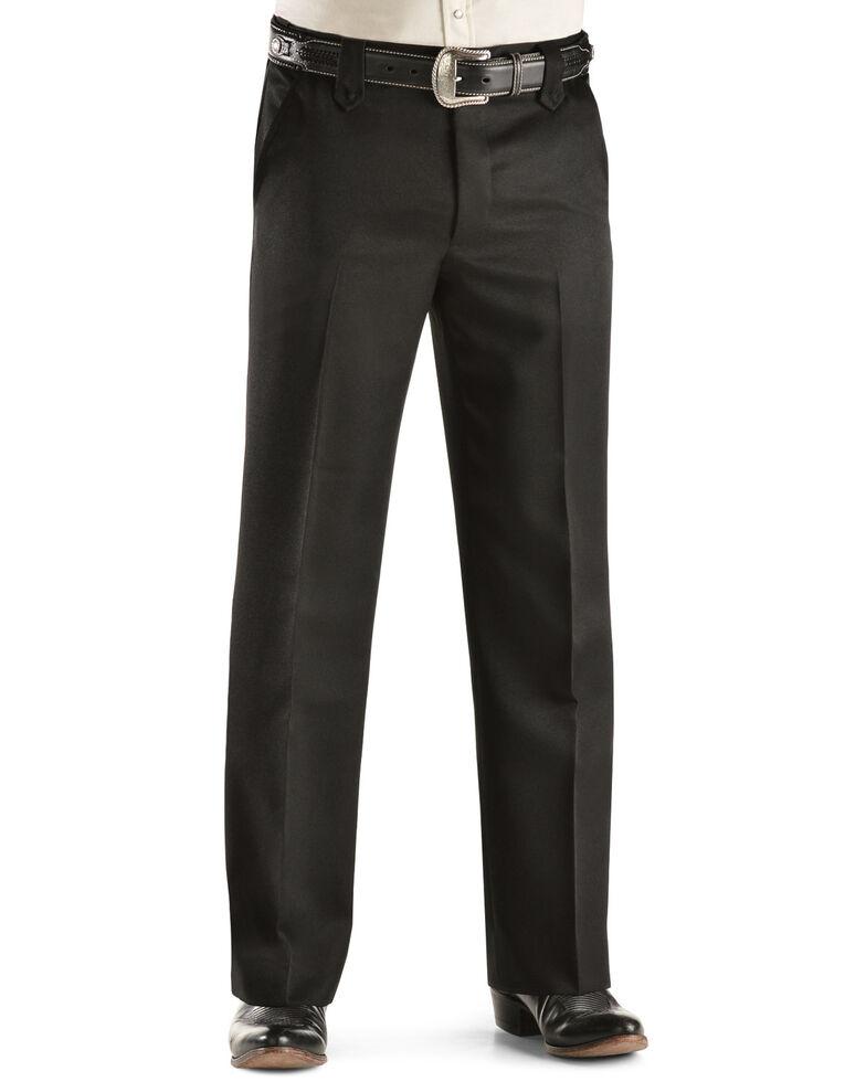 "Circle S Xpand Expandable Waistline Pants - Big - Up to 50"" Waist, Black, hi-res"