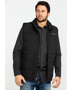 Ariat Men's Crius Zip Front Vest - Big , Brown, hi-res