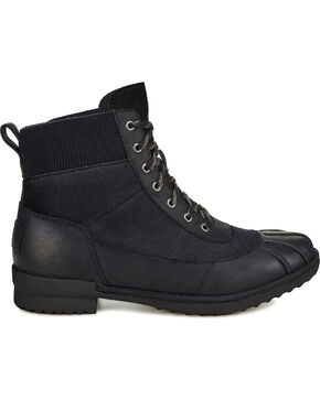 UGG Women's Cayli Waterproof Boots - Round Toe, Black, hi-res