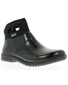 Bogs Women's Seattle Insulated Rain Boots - Round Toe, Black, hi-res