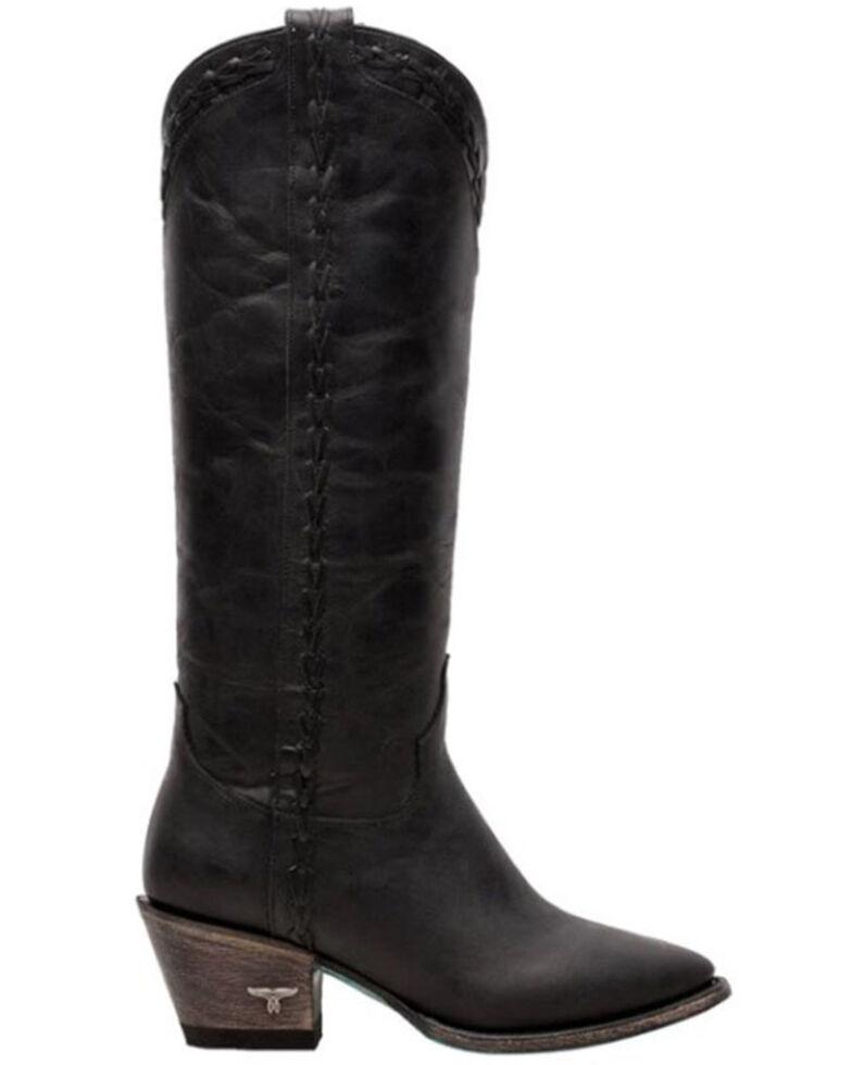Lane Women's Everyday Emma Western Boots - Round Toe, Black, hi-res