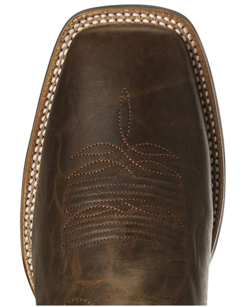 6a80b13b5d0 Ariat Men's Crossdraw Oxblood Western Boots - Wide Square Toe