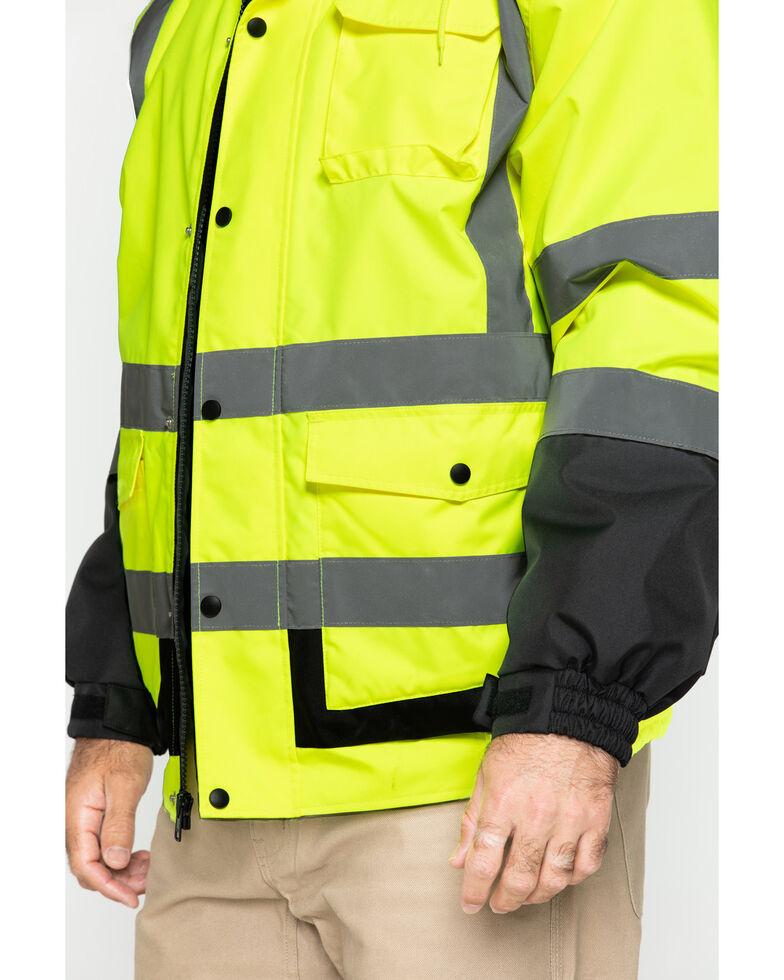 Hawx Men's 3-In-1 Bomber Work Jacket - Tall , Yellow, hi-res