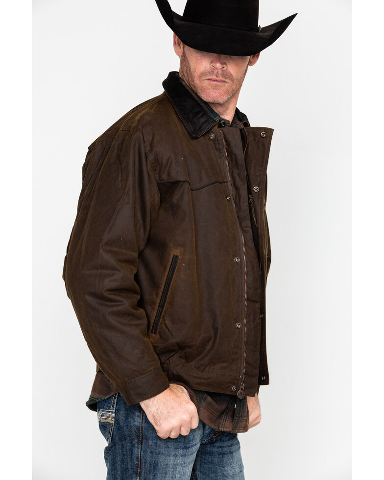 Outback Men's Trailblazer Jacket, Bronze, hi-res