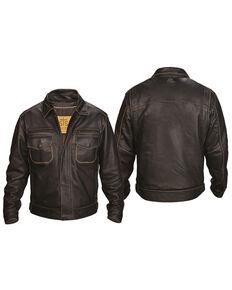 STS Ranchwear Men's Brown Rambler Jacket - Big , Brown, hi-res
