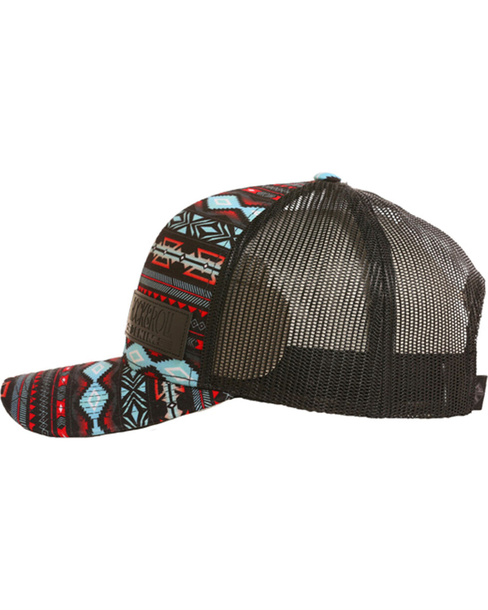 Rock & Roll Cowboy Men's Aztec Print Trucker Cap , Multi, hi-res