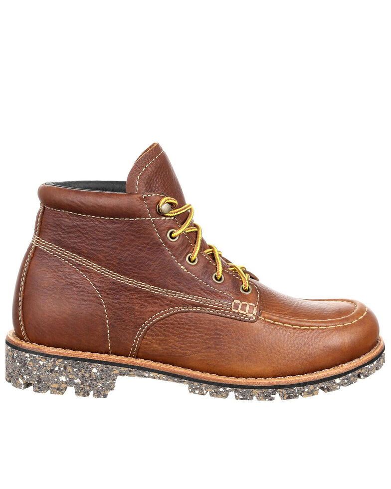 Rocky Men's Collection 32 Work Boots - Soft Toe, Brown, hi-res
