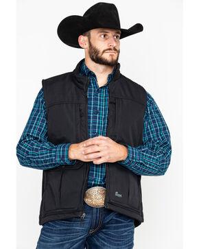Berne Men's Concealed Carry Work Vest, Black, hi-res