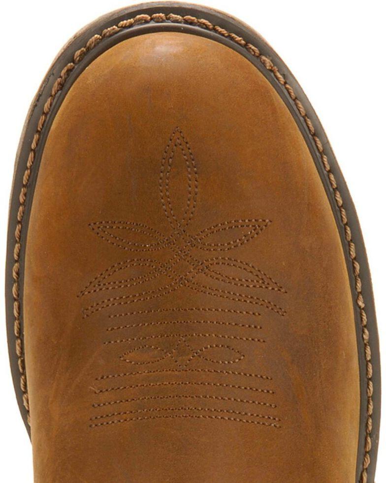 Tony Lama Men's TLX Steel Toe Waterproof Western Work Boots, Tan, hi-res