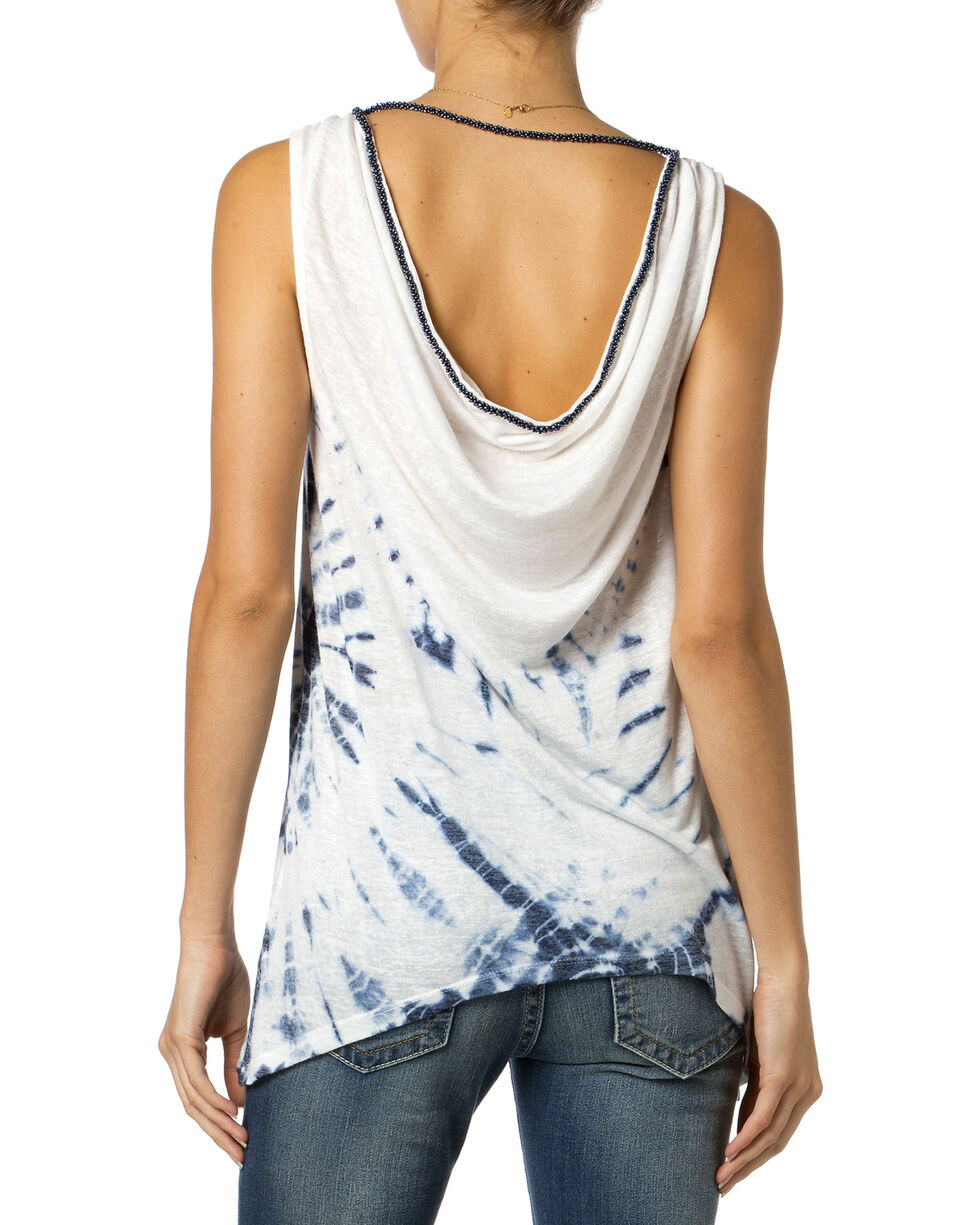 Miss Me Tie-Dye Tank Top, Off White, hi-res