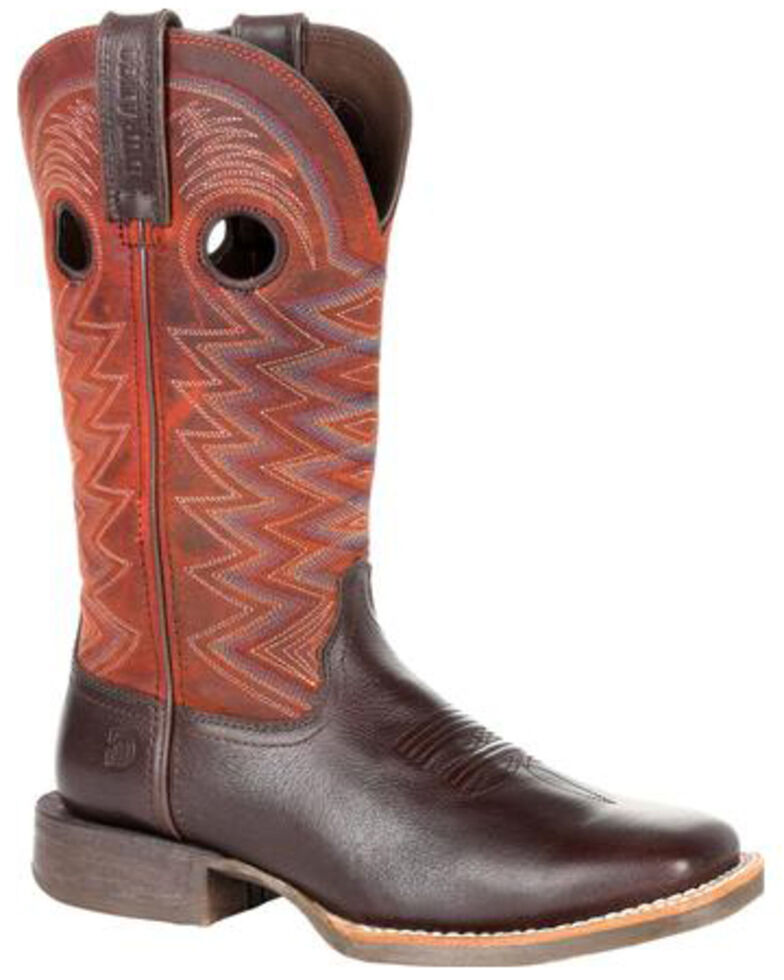 Durango Women's Lady Rebel Pro Crimson Western Boots - Square Toe, Brown, hi-res