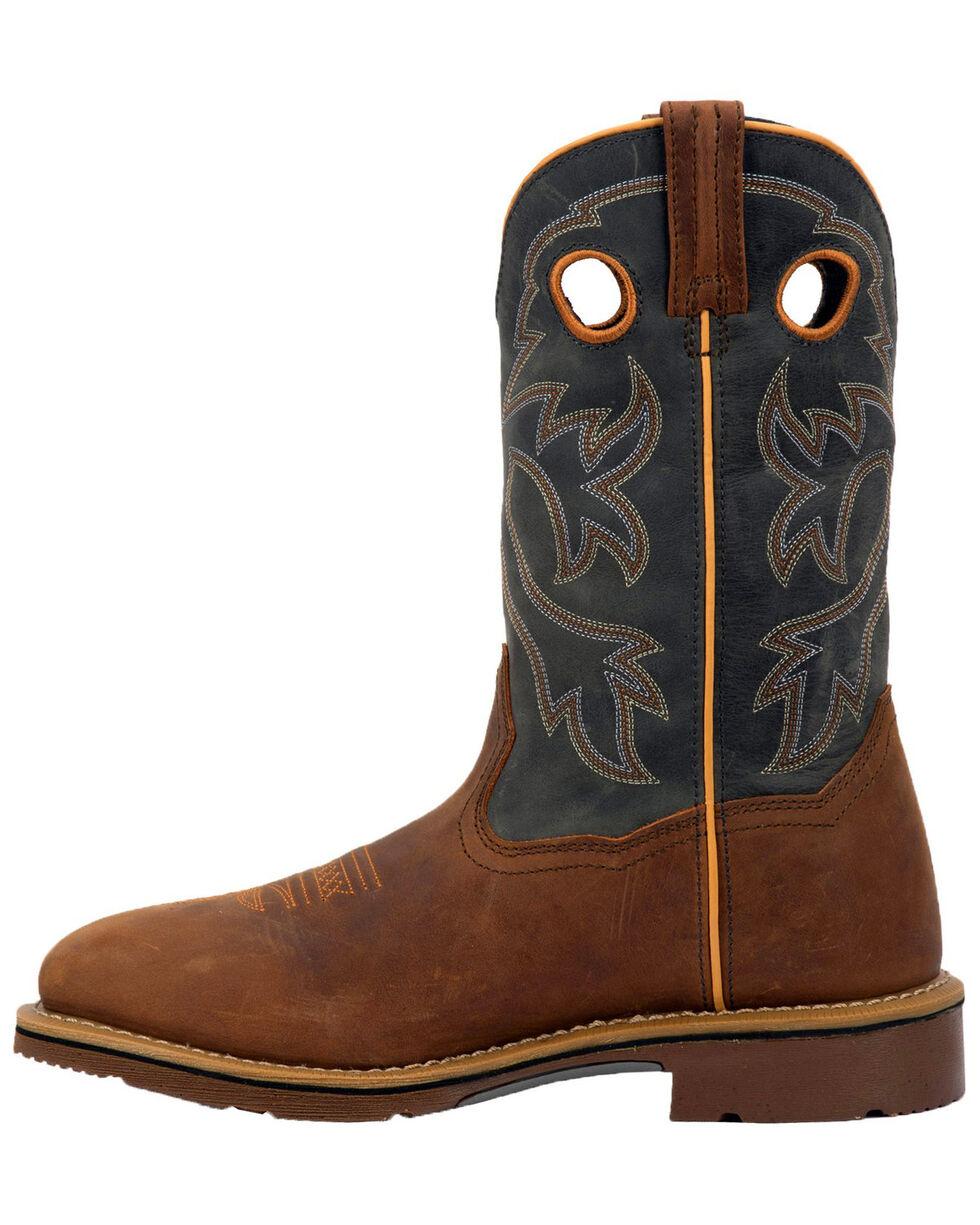 Dan Post Men's Hilldale Waterproof Western Work Boots - Steel Toe, Tan, hi-res