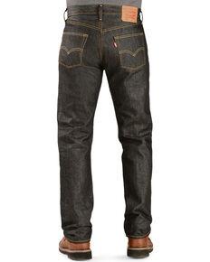 Levi's 501 Jeans - Original Shrink-to-Fit, Black, hi-res