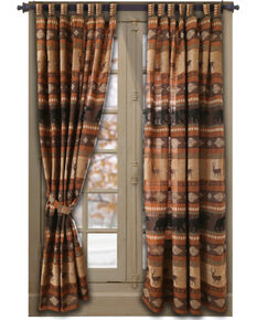 Carstens Autumn Trails Drapes, Rust Copper, hi-res