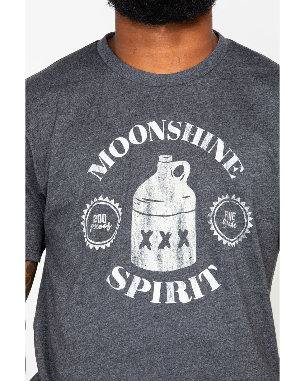 Moonshine Spirit Men's Fine Grade 200 T-Shirt , Teal, hi-res