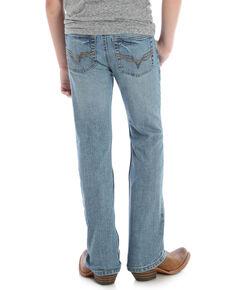 Wrangler 20X Boys' Taft Bootcut Jeans, Blue, hi-res