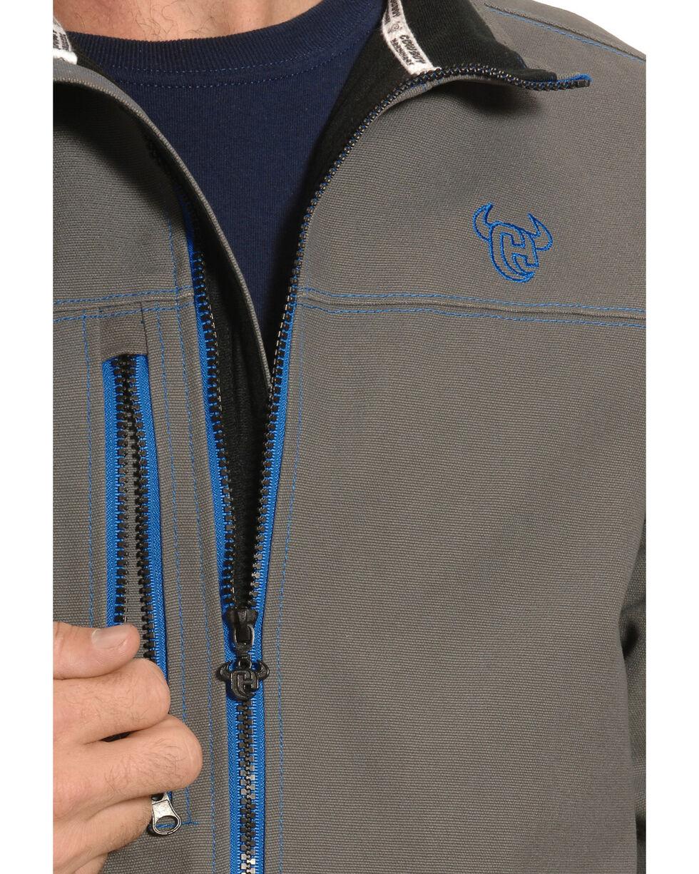 Cowboy Hardware Men's Grey and Blue Woodsman Jacket , , hi-res