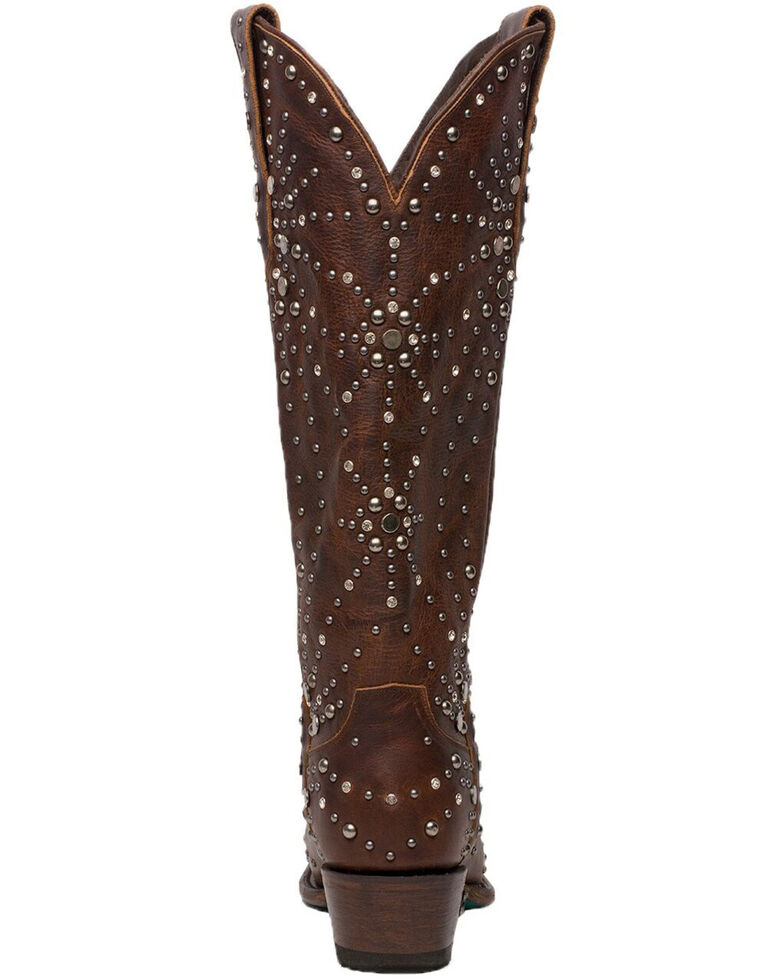 Lane Women's Sparks Fly Western Boots - Snip Toe, Cognac, hi-res