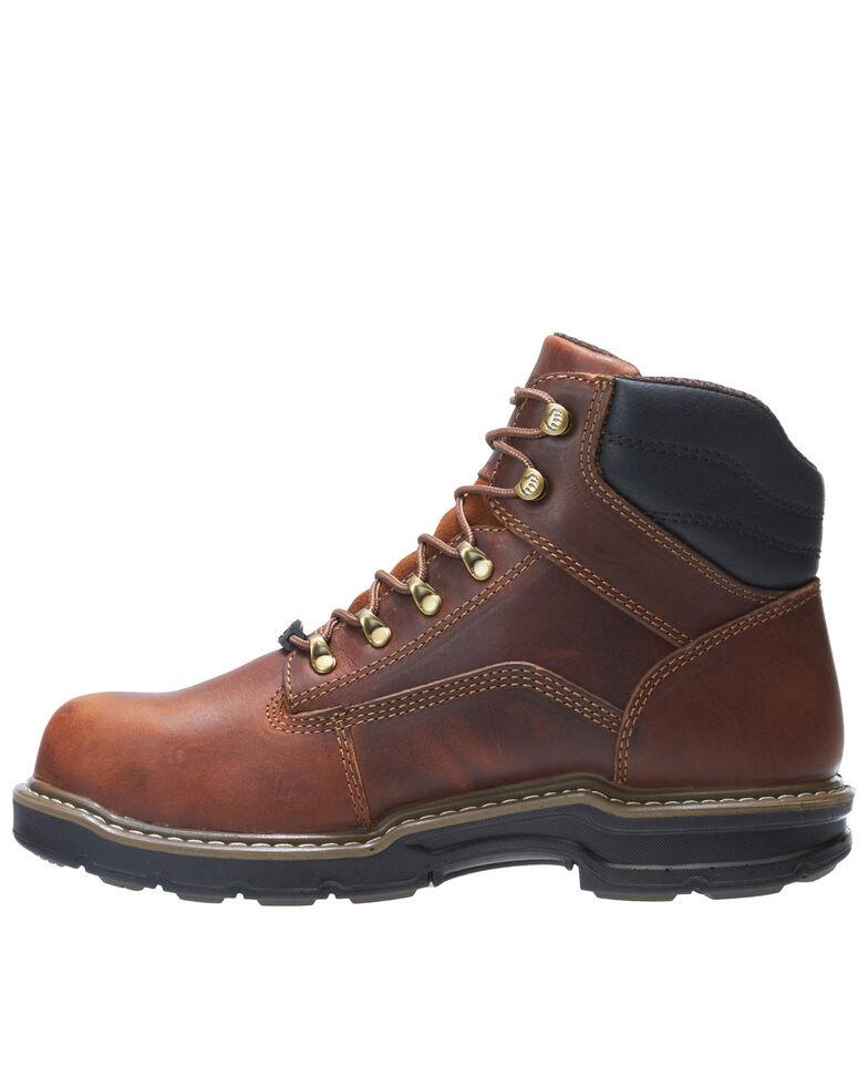 Wolverine Men's Raider II Work Boots - Soft Toe, Brown, hi-res