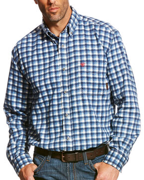 Ariat Men's FR Santa Fe Work Shirt, Multi, hi-res