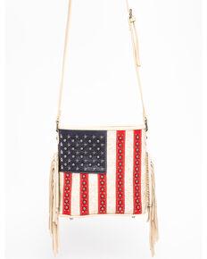 Shyanne Women's Americana Crossbody Bag, Tan, hi-res