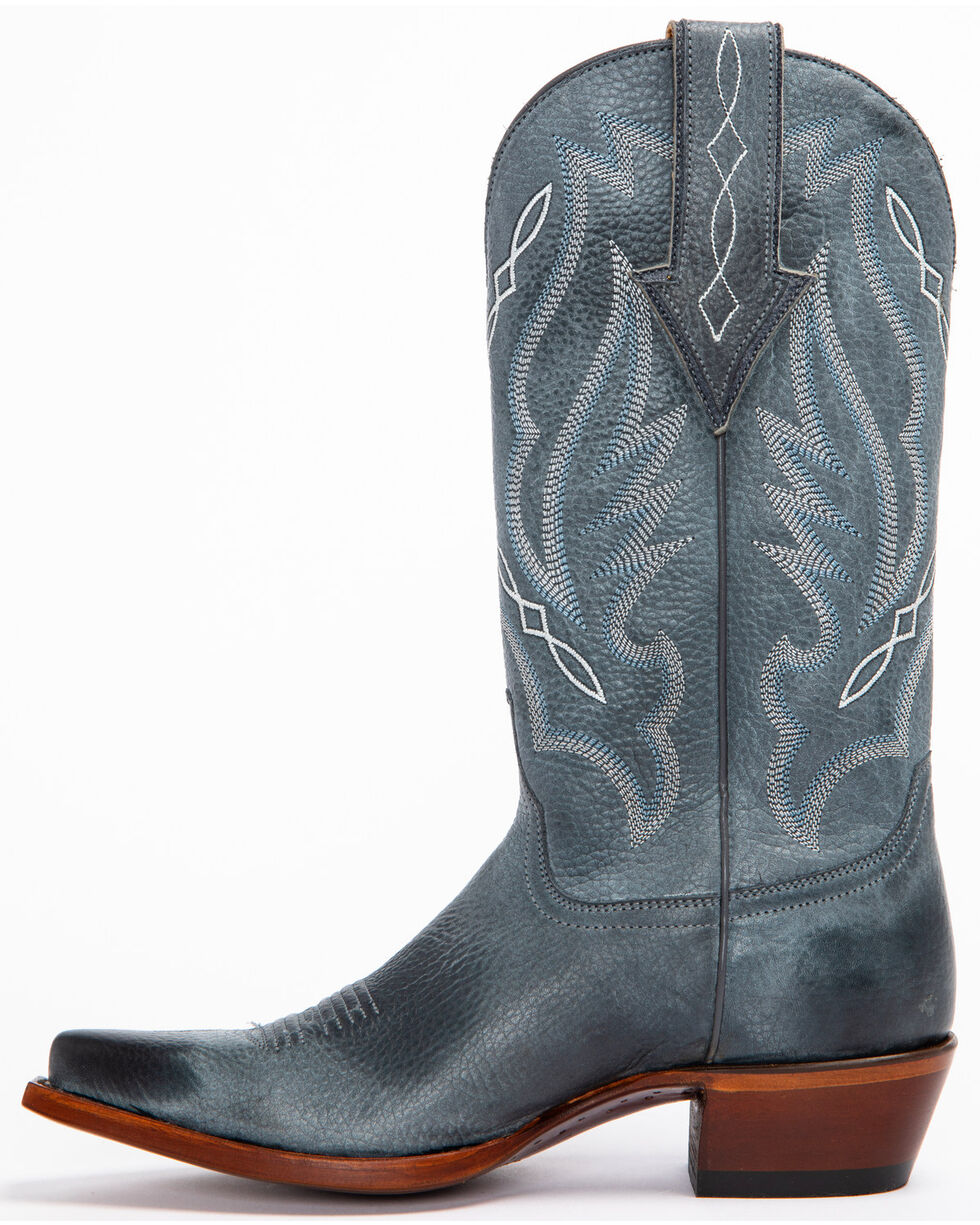 Shyanne Women's Alyssa Western Boots - Snip Toe, Blue, hi-res