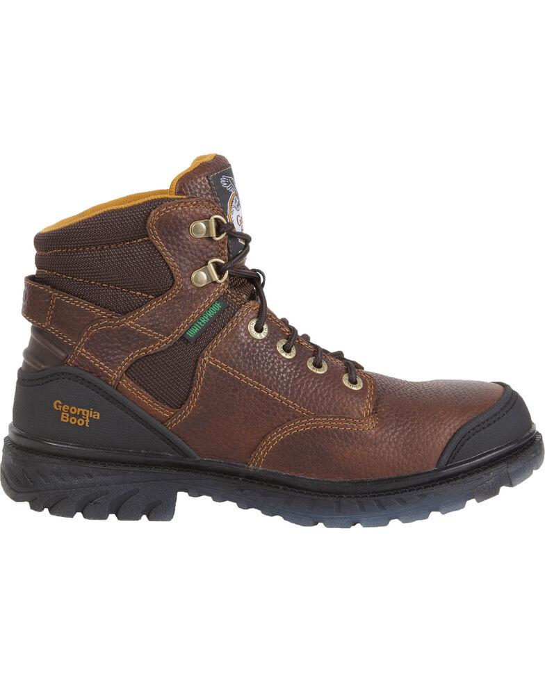 Georgia Men's Zero Drag Steel Toe Boots, Brown, hi-res