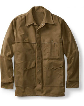 Filson Men's Tin Cloth Cruiser Jacket, Tan, hi-res