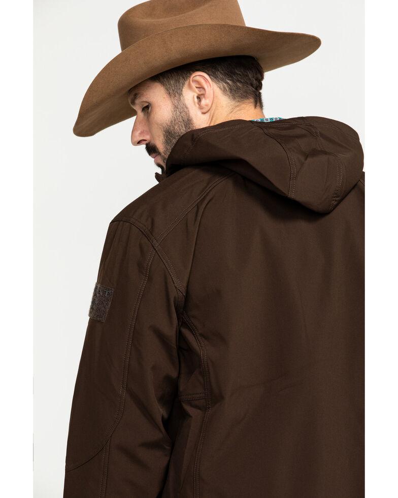 Ariat Men's Vernon 2.0 Hooded Tactical Jacket  , Brown, hi-res