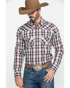 Ariat Men's Jefferson Retro Multi Plaid Long Sleeve Western Shirt , Multi, hi-res