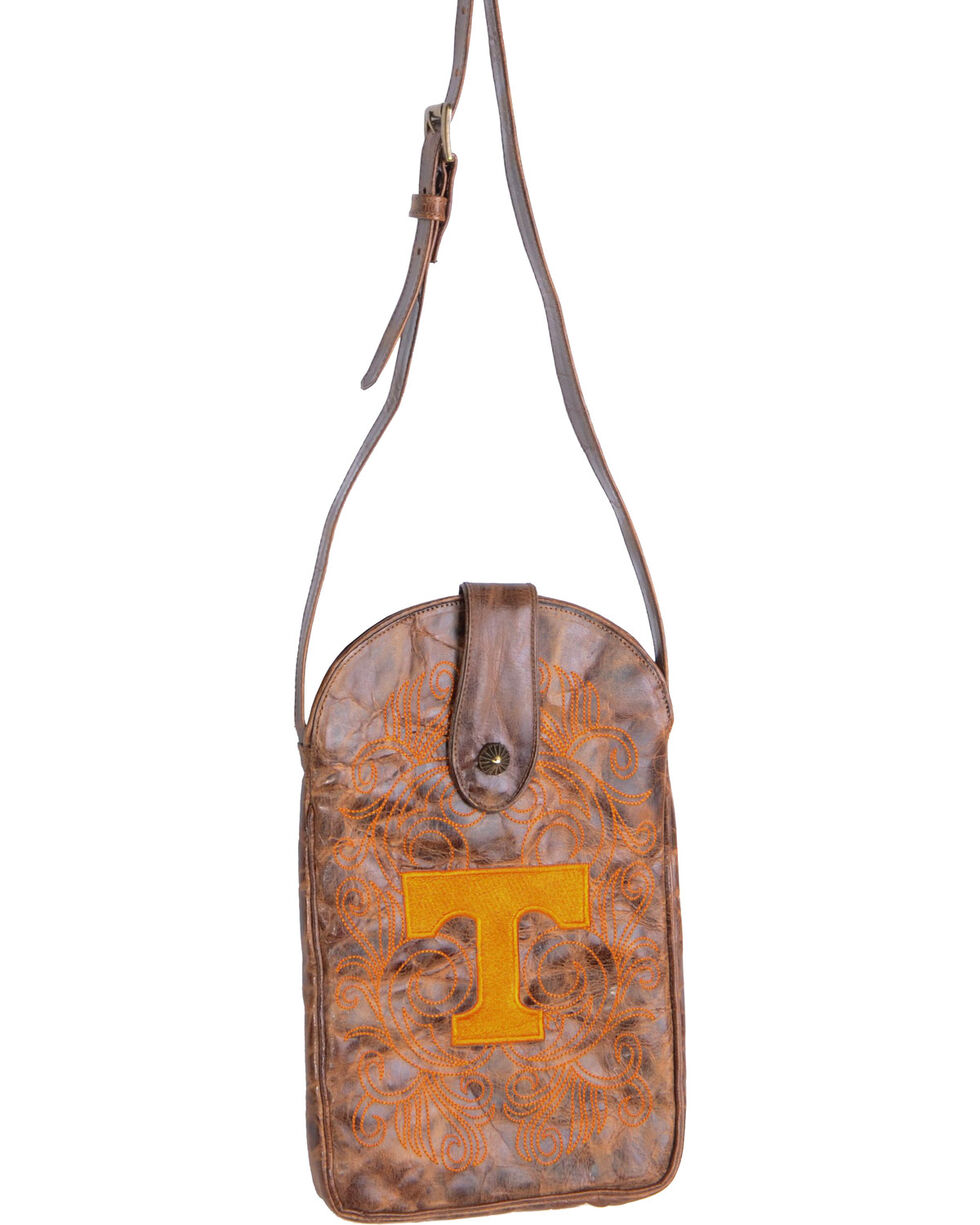 Gameday Boots University of Tennessee Crossbody Bag, Brass, hi-res