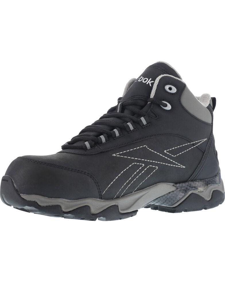 Reebok Women's Beamer Waterproof Athletic Hiker Boots - Composite Toe , Black, hi-res