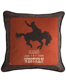 Carstens Home Western Rodeo Country Throw Pillow , Multi, hi-res