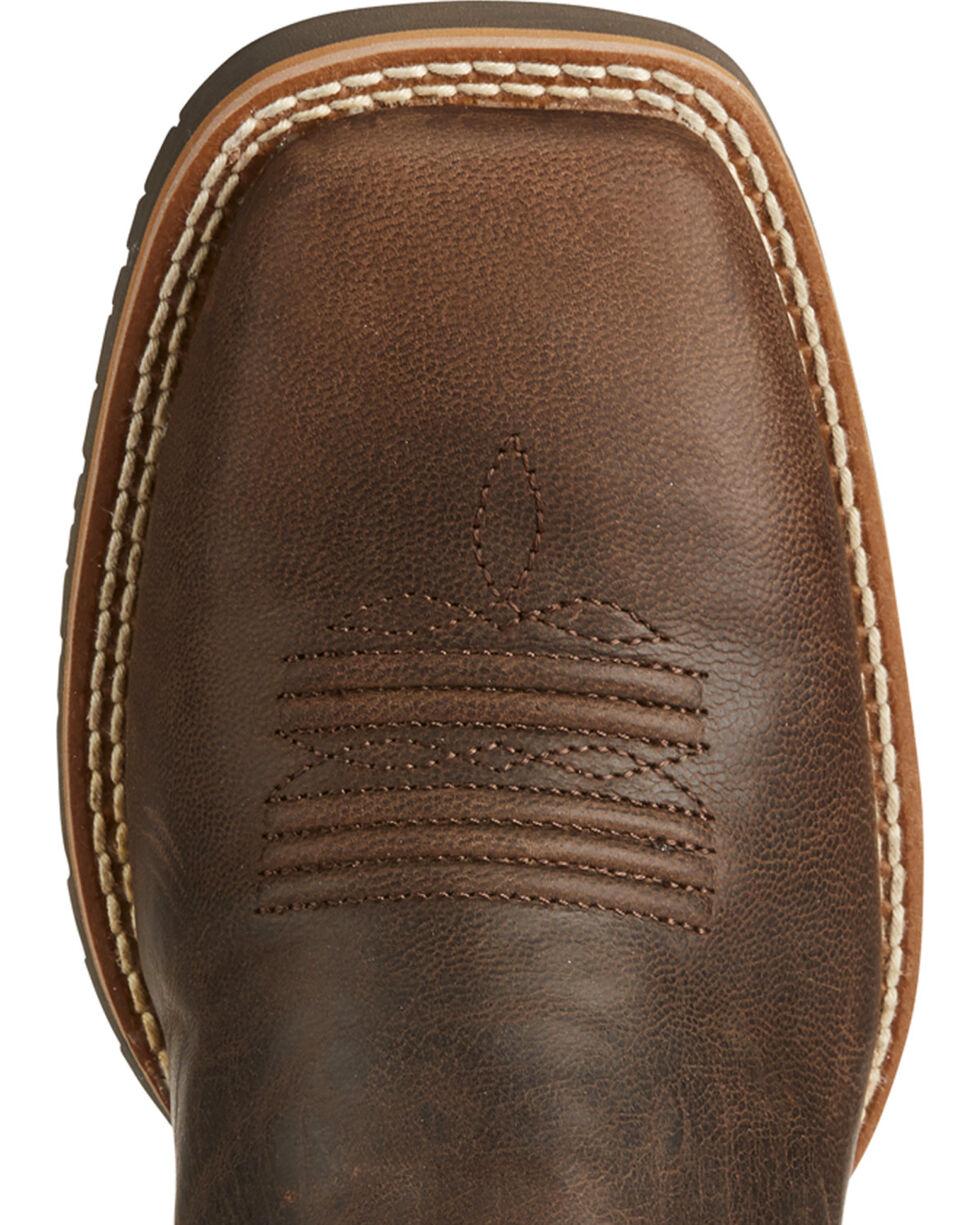 Ariat Women's Hybrid Rancher Western Boots, Dark Brown, hi-res