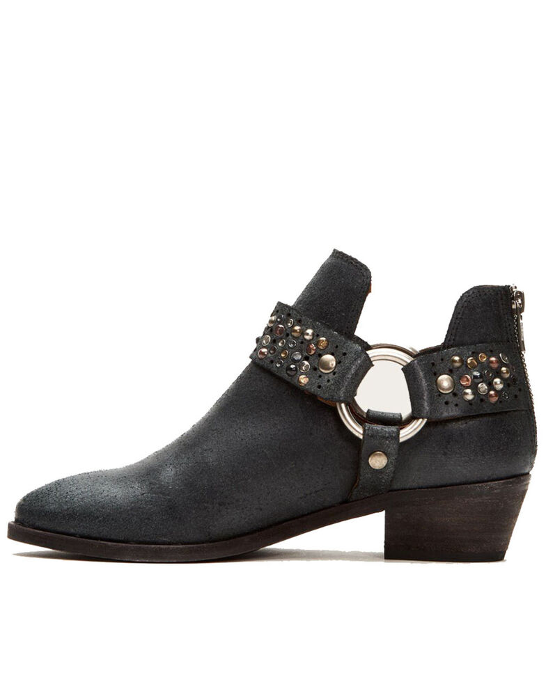 Frye Women's Ray Deco Fashion Booties - Round Toe, Black, hi-res