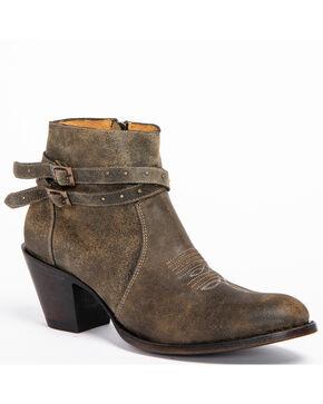 Shyanne Women's Collins Black Booties - Medium Toe, Black, hi-res