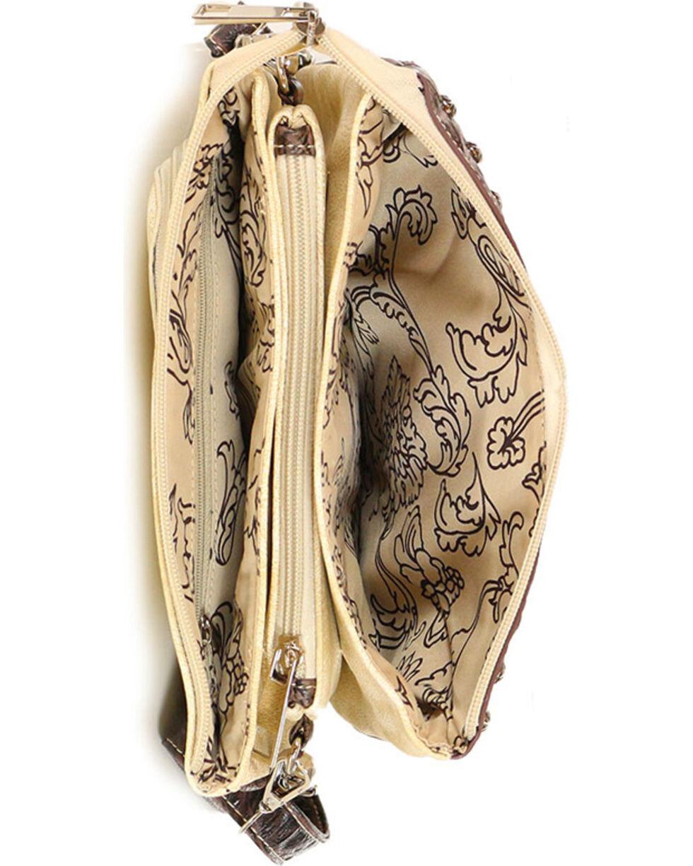 Savana Women's Patchwork Handbag, Ivory, hi-res