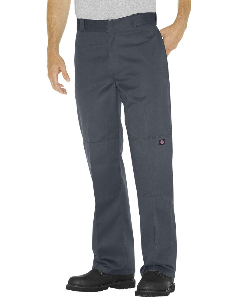 Dickies ® Loose Fit Double Knee Work Pants - Big & Tall, Charcoal Grey, hi-res