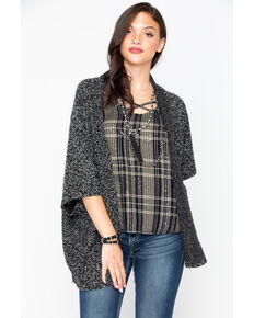 BB Dakota Women's Knit Cardigan, Black, hi-res